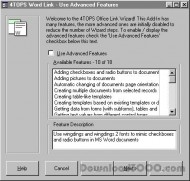 4TOPS Document Management in MS Access 97 screenshot